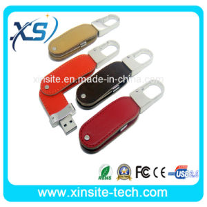 Custom Design Best Gift Leather USB Flash Drives (XST-U048)