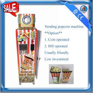 Automatic Vending Popcorn Machine HM-PC-18 pictures & photos