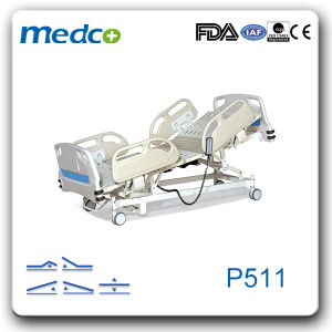 Ce&ISO Five Functions ICU Electric Hospital Bed