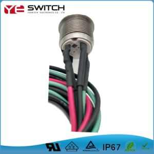 IP67 Waterproof Dust Proof Touch Push Button Switch with Potting