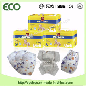 Extrathin Soft & Breathable with Big Waist Band Ecofree Baby Diaper pictures & photos
