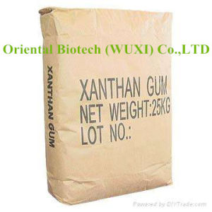 High Quality Food Grade Xanthan Gum 200 Mesh in Thickness