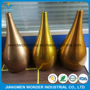 Customized Color Gold Metallic Glossy Red Spray Paint Powder Coating pictures & photos
