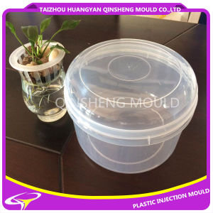Plastic Injection PP Transparent 3.5L Round Container Mould