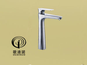 Oudinuo Brass Single Handle Basin Faucet 69111-11 pictures & photos