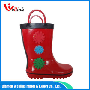 Hot Style Kids High Quality Rubber Rainboots