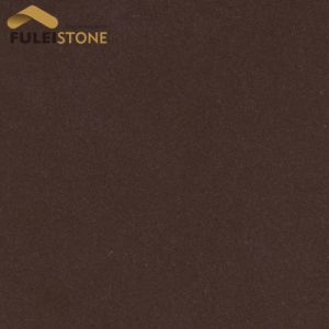 China Brown Color Quartz Dark Tiles Price
