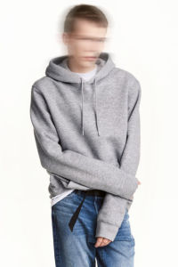 Mens Cotton 60%; Polyester 40% Hooded Top pictures & photos