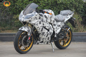 150cc, 200cc, 250cc Racing Motorcycle with Newspaper Pattern