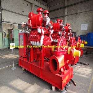 Fire Fight Diesel Water Pump Set/Fire Diesel Pump/Diesel Fire Pump with Jockey Pump pictures & photos