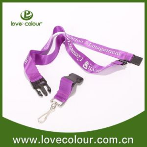 Promotional Flower Neck Strap Lanyards with Swivel J Hook