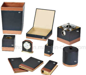 china high quality hotel guest room leather product hotel leather