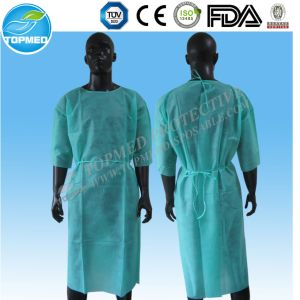 Disposable Non-Woven Isolation Gown by Ce/FDA/ISO Approve pictures & photos