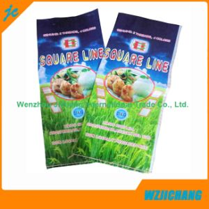 with Printing Recycled Woven Polypropylene Feed 50kg White Bag pictures & photos