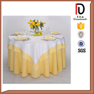 High Quality Washable Durable Hotel Polyester Banquet Table Cloths Br-Tc040 pictures & photos
