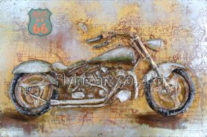 3 D Metal Painting for Motobike pictures & photos