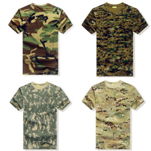 Wholesale Men′s Digtal Printing Military T Shirt pictures & photos
