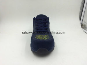 Casual Style Mesh Upper Toe Protection Safety Footwear (16016-A) pictures & photos