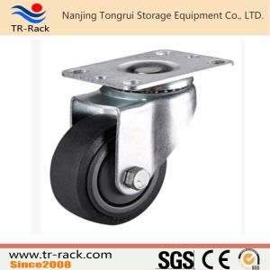Heavy Duty Iron Core PU Swivel Locking Caster Wheel pictures & photos