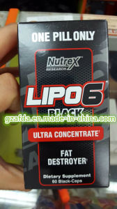 Healthy Nutrex Research 60 Count Rx Supplement Lipo-6