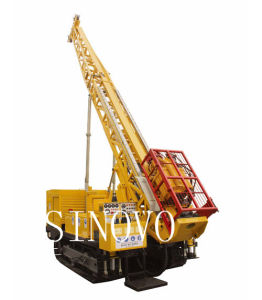 SHY-5C High Effective Trailer All Hydraulic Diamond Core Drilling Rig pictures & photos