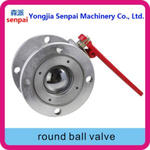 Dn50, Dn65, Dn80, Dn100, Dn150 Round Ball Valve pictures & photos