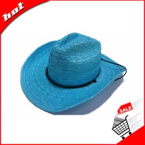 Cheap Wholespaper Straw Cowboy Hat pictures & photos