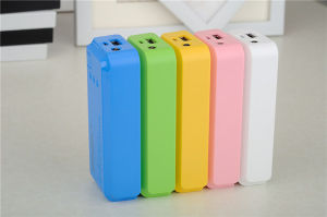 Hot Selling High Grade Quality New Designed Mini Power Bank with LED 5200mAh