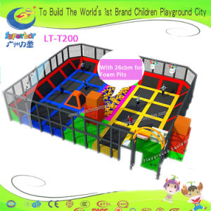 Superboy Amusement Park Trampoline with Foam Pits pictures & photos