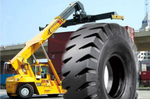 Stacker Crane Tires, Industrial Habor Tire 18.00-25 E4 Pattern China
