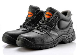 Cow Leather Safety Shoes, CE, pictures & photos