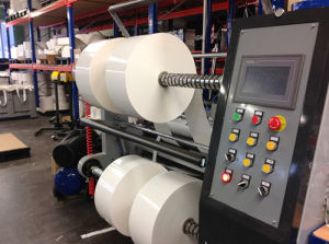 PLC Controlled Paper Label/Film Label Slitter pictures & photos