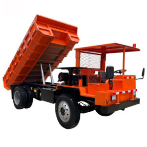 4-Wheels Diesel Dumper Truck 196t for Mining with Excellent Quality