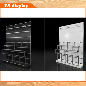 Wall Mounted MDF Suit Pans Display Rack (ZS-620)