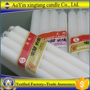Wholesale Aoyin Brand Cut off 20% White Wax Stick Candles Ay141214 pictures & photos