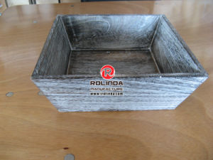 Square Disposable Wood Food Container pictures & photos