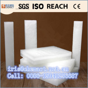 China Solid Forms and Fully Refined Refinement Bulk Paraffin Wax 58