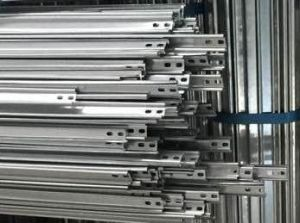 Cold Forming Galvanized Steel Sheet Rail for Structure