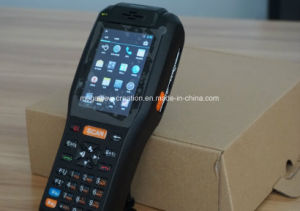 Handheld Computer PDA with NFC/GPS/3G/ 58mm Thermal Printer and Barcode Scanner (MG-9878QH) pictures & photos