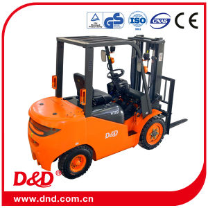 China Hot Sale Small 3.5 Tons Diesel Forklift D&D M35D Mini Forklift Truck