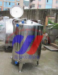 Single Layer Stainless Steel Mixing Tank pictures & photos