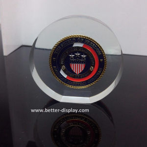 Acrylic Seamless Hot-Pressing Paperweight Block (BTR-I8004) pictures & photos