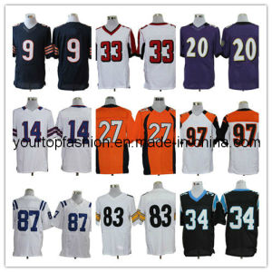 Hot Sell American Football Jersey, Men′s Sports Apparel, High Quality Football Shirts for Men in Cheap Price