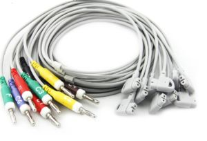 ECG Cables Compatible with HP/Phillip