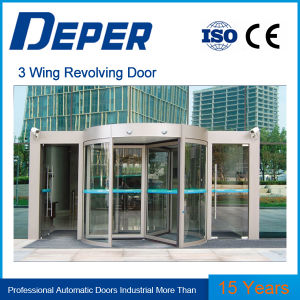 Deper Three&Four Wing Revolving Door pictures & photos