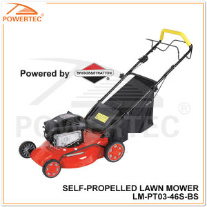 Powertec 450 Series 148cc 3.0kw Gasoline Self Propelled Lawn Mower (LM-PT03-46S-BS) pictures & photos