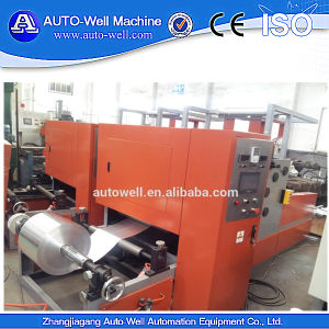 Italy Aluminum Foil Rewinding Machine pictures & photos