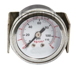 1.5 Inch U-Folder Type Table Pressure Gauge with Safety Requirement