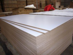 MDF/Plain or Melmaine MDF/Slotwall/HDF/Wood Venner MDF pictures & photos