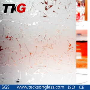 Decorative Acid Etched Glass with New Design pictures & photos